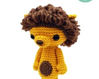 Crochet pattern - Lion Amigurumi pattern