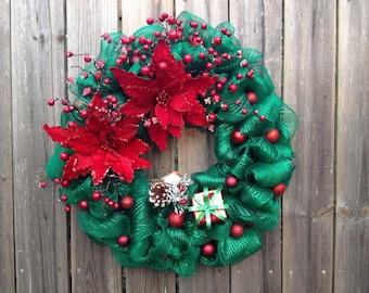Christmas / Holiday / Winter wreath