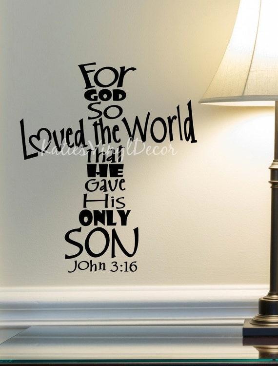 Does God So Love the World?
