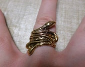 Metal Replica The Hobbit Elven King Thranduil Snake Ring Size 8 The Lord of the Rings Jewelry LOTR Ships Free + Tracking Number & Insurance!