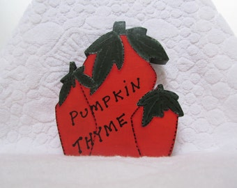 Thanksgiving Decor, Pumpkin Decor, Pumpkins, Pumpkin Thyme, Wood Pumpkins, Fall Pumpkins,Primitive Pumpkin,Painted Pumpkins, Fall Decor