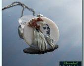 Thranduil pendant, handmade pendant