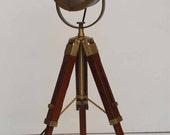 Antique Tripod Floor Lamp