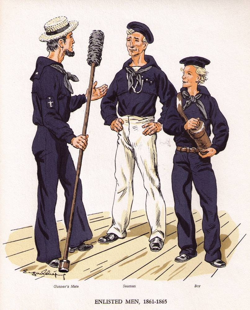 navy civil war uniforms the image kid