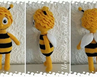 Tutorial in french Maya the bee (PDF in french)