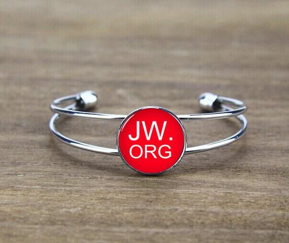 personalized bangle bracelet, initial bracelet bangle, custom jw letters, custom you image or logo, god witnesses gift, cool gift, trending