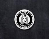 buffy the vampire slayer fan club button