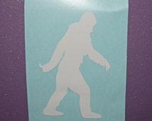 Bigfoot sasquatch cryptozoology vinyl sticker decal- vinyl laptop sticker- decal for car window