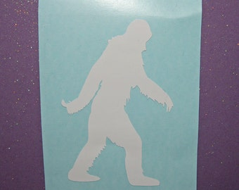 Bigfoot vinyl sticker decal- vinyl laptop sticker