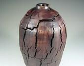 Large Vase Ceramic Sculpture - Handmade Sequoia Tree Pottery - Work of Art - Wheel Thrown Stoneware Art Centerpiece - Ships Today