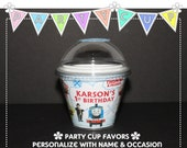 Thomas the Train - Birthday Party Cup Favor (10)