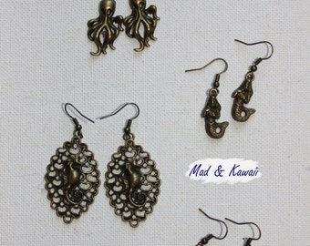 Earrings 10 000 Leagues under the sea PROMOTION