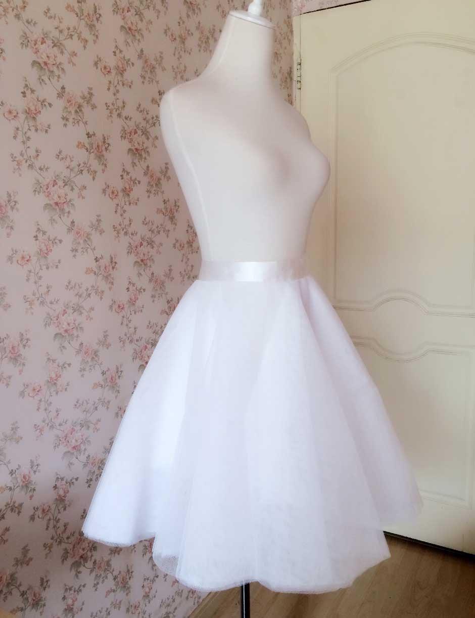 white tulle skirt fashion tulle skirt by dressromantic