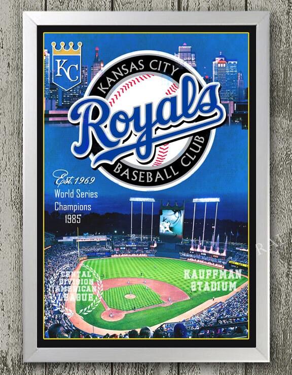 The Man Cave Store Kansas City : Kansas city royals art print with kauffman stadium great