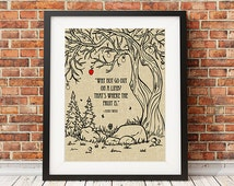 Mark Twain Quote/Why not go out on a limb/Unframed/Art PrintInspirational,Wall Decor,Home Decor,-Gift Idea,8x10,11x14