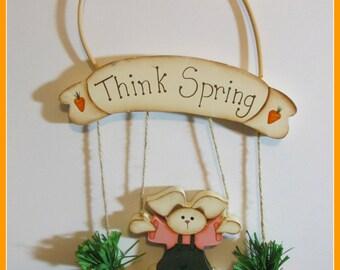Think Spring Bunny