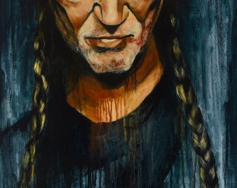 Willie Nelson No.4 Print