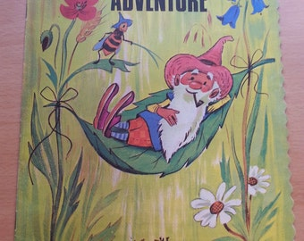 Vintage Woodland Adventure (paperback), printed in Netherlands