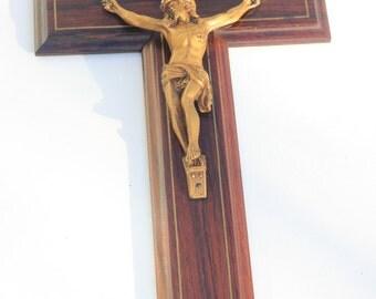 Vintage Wooden Cross,crucifix,Jesus ,religious decor