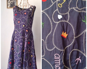 Lucky Charms Love Potion No. 9 Vintage Designer Marc Jacobs Dress