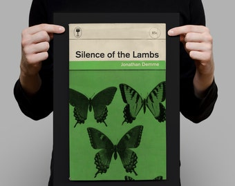 SILENCE Of THE LAMBS Movie Poster Silence of the Lambs Poster Silence of the Lambs Print Penguin Classics Print Ribba