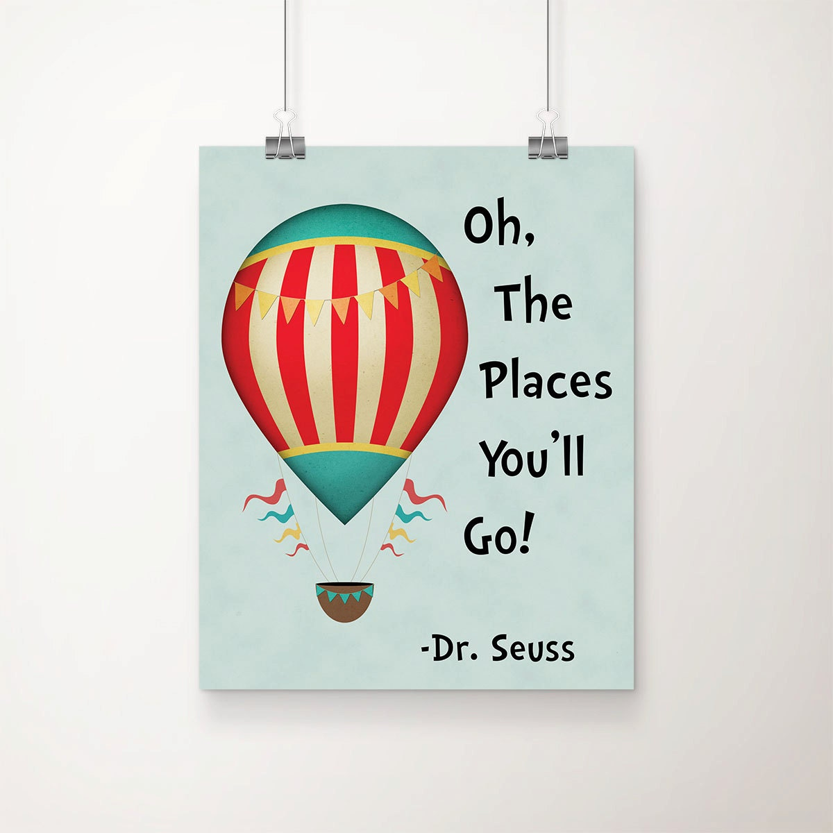 Dr Seuss Quote Art Print Children 39 S Wall Art Dr By Dcastudio