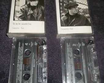 ANDREW Dice CLAY 2 Cassette Tapes The Day The Laughter Died Produced By Rick Rubin Standup Comedy at Dangerfield's NYC 1990