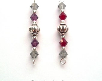 Bookmark Add-on - Bookmark Dangle - Crystal and Bead Bookmark Add-on - Epsteam
