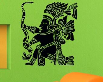 Wall Decals Mayan Inca Symbol Decal Sticker Vinyl Decals Wall Decor Murals Z515