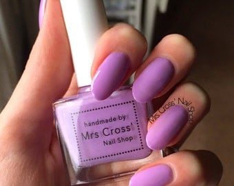 SALE - Purple Nog - handmade in the UK Indie Nail Polish - 10ml