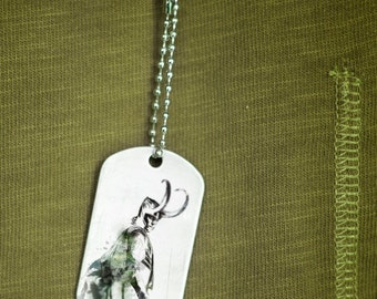 the shapeshifter dog tag