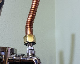 Re-Purposed Copper Beer Tap Handle