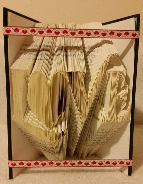 how to create a custom book folding template