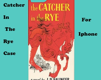 Catcher In The Rye iphone case, iphone case, 50's, cover, retro, iphone 6, iphone 5, cover, iphone 6 plus, iphone 4