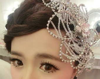 Rhinestone Wedding Hairpiece