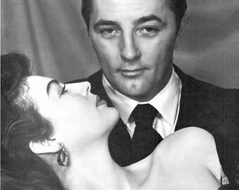 Ava Gardner, Robert Mitchum, My Forbidden Past, Fine Art Print, Hollywood Regency, Giclee Print, Old Hollywood, Hollywood Glamour, Wall Art