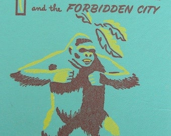 Tarzan and the Forbidden City - Vintage Youth Adult Series Reading Book with Illustrations