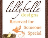 Reserved For Someone Special - Kyrie Johnson