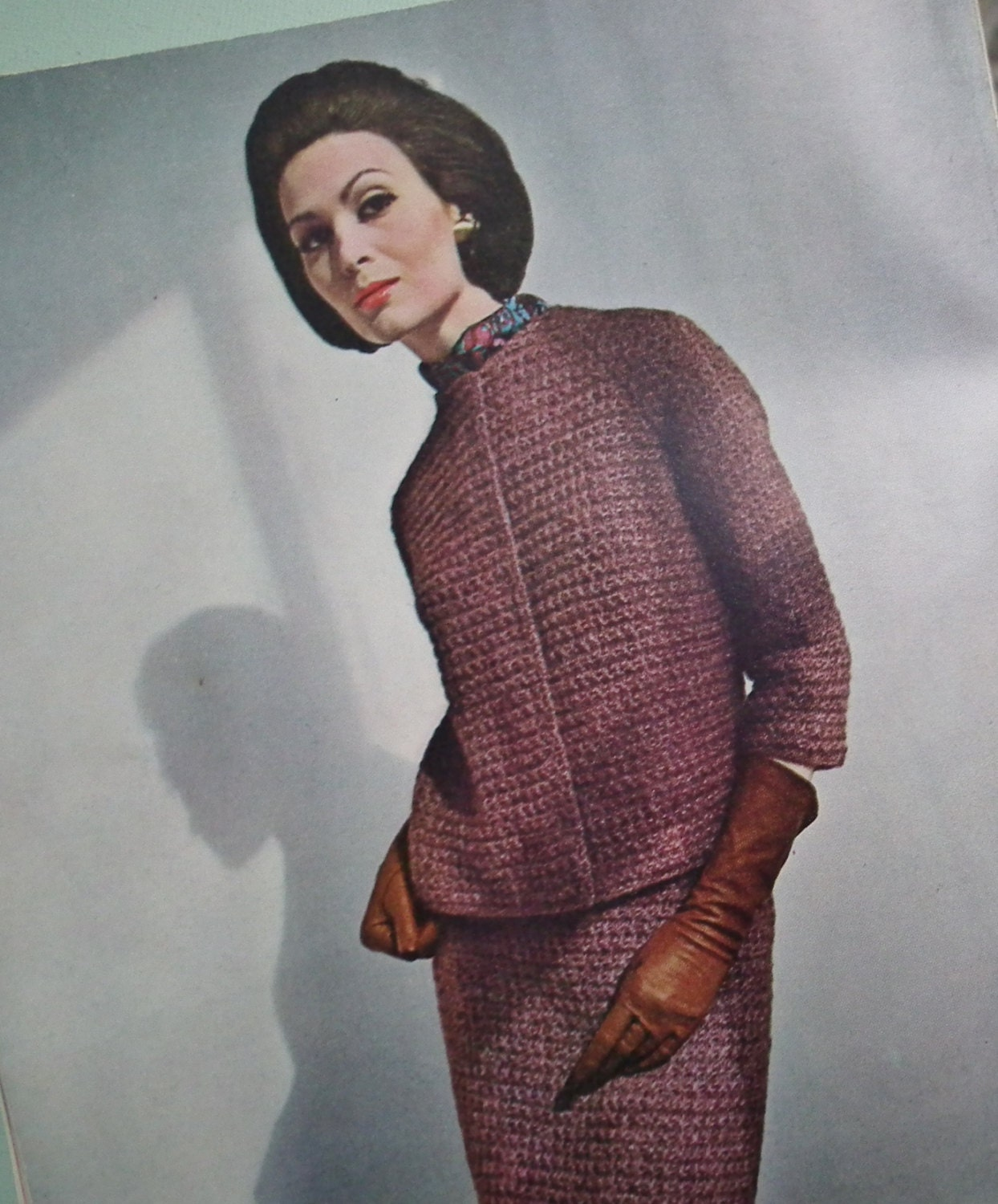 Vintage Vogue Knitting Patterns 1960s Vogue by sewmuchfrippery