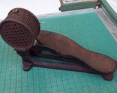 Antique foot pedal, rheostat, cast iron, electric motor, speed control,  sewing machine rheostat