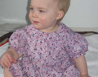 Pretty liberty top for a toddler