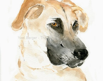 custom Dog watercolor, Pet custom watercolor, cat custom painting, custom pet portrait, commissioned pet art, pets lover, thejoyofcolor