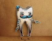 Rotten Mo - from Gang-Rene - assembled articulated paper doll - by KarolinFelix