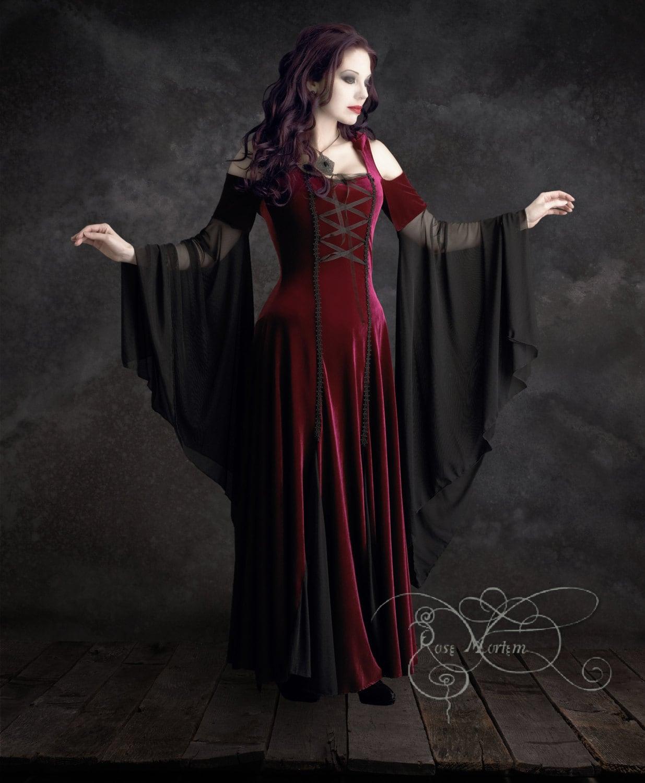 Imaginaerum Fairy Tale Romantic Wedding Dress By Rosemortem