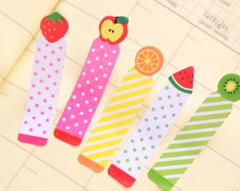 Fruits Sticky Post It Memo Note Pad 180 sheets SS305