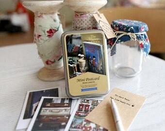 Photo Mini Postcard - From London (Tin Case 40 sheets)