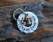 Pet ID Tag / Dog Tag / Dog ID Tag / Personalized Tag / Funny Dog Tag / Aluminum / Bitches Love Me