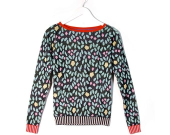 Garden Mosaic Sweater