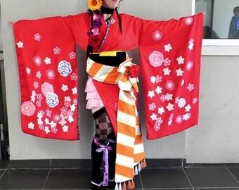 Wakyokenshi Sayaka cosplay from Silver Rain