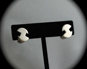 Vintage German Earrings Pforzheim Germany 1960s Vintage German Jewelry Vintage Earrings Clip Ons